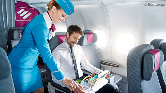 Eurowings Service and Seats
